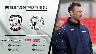PREVIEW: Williamson looking for consistency ahead of Hereford clash