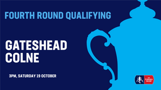 Heed handed Emirates FA Cup home tie against Colne
