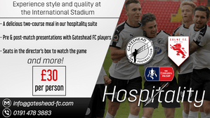 Emirates FA Cup hospitality and ticket information