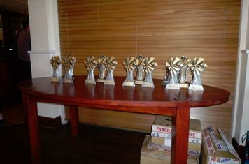 Awards at the ready