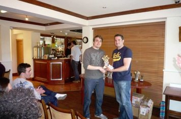 Bankers Pavillion Manager's Player of the Season: Joe Barry