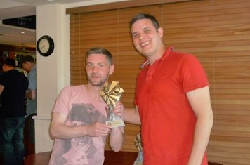Reserve Team Players' Player of the Season: Carl Parton