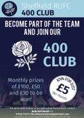 400 Club Winners Prize Draw