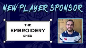 Ben Whitney Sponsored By The Embroidery Shed Ltd