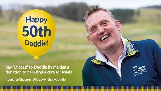 Happy 50th Birthday To Doddie Weir