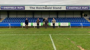 """Sheffield RUFC Stand Renamed """"The Reichwald Stand"""""""
