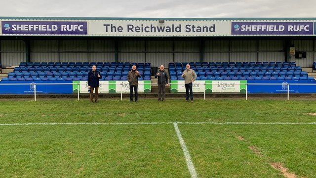"Sheffield RUFC Stand Renamed ""The Reichwald Stand"""