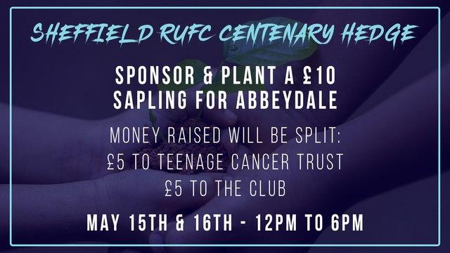 Sheffield RUFC Centenary Hedge