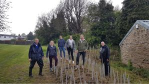 Centenary Hedge Planting & Sponsorship
