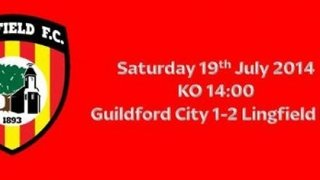 Guildford 1-2 Lingfield 19th July 2014