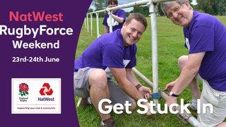 NatWest RugbyForce DIY weekend 23 & 24 June