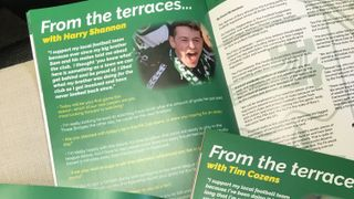 Feature in our match day programmes!