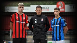 NOW ON SALE  -  Redditch United Home & Away Kits!