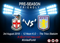 REDDITCH UNITED 'Vs' ASTON VILLA