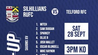 Saxons XV Line-Up