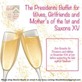 Presidents buffet for Wives, Girlfriends and Mothers