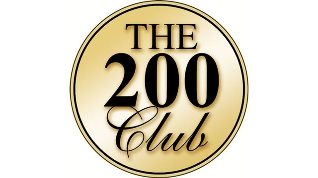 JULY & AUGUST 200 CLUB WINNERS!