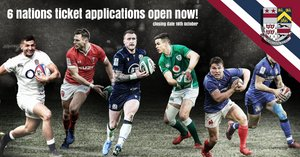 6 NATIONS TICKET APPLICATIONS 2022