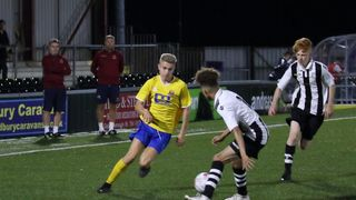 F.A Youth Cup action tonight! Come on down