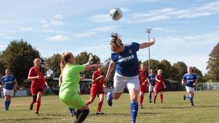 Ipswich Town Women win cup goal fest!
