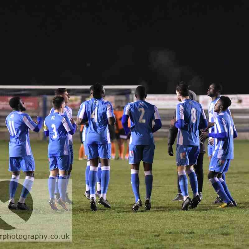 Hullbridge Sports FC v Bury Town FC - 21.01.2020