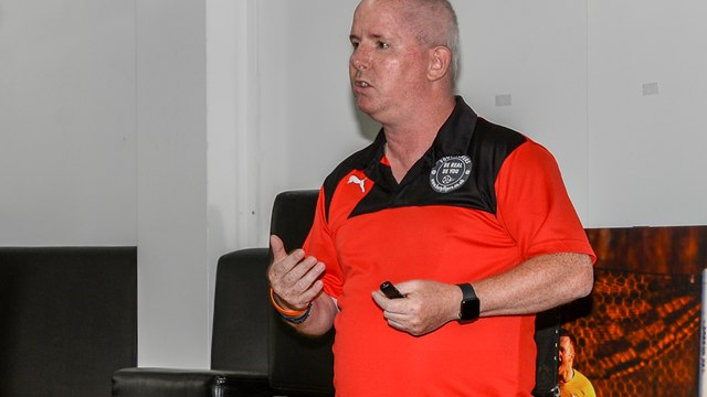 Basford United Complete Mental Health Workshop From Roy's Therapy