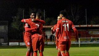 HHTFC 2-2 St Albans City (Hemel win 4-3 on Pens) (22.10.19 - Herts Charity Cup QF)