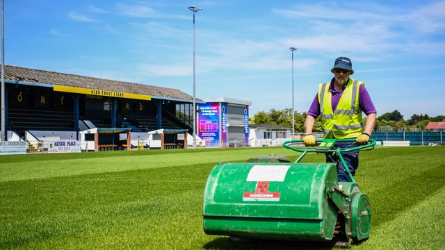Club continue ground maintenance works in preparation for new season