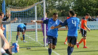Nabil Shariff hat-trick fires the Blues to FA Cup glory!