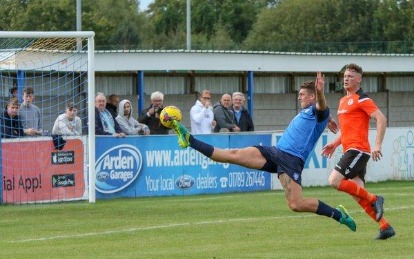 Liam Hughes goes close
