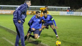 Stratford Town 2 Wolverhampton Wanders 2 (Wolves win 4-2 on pens) -photos Granty and Woody