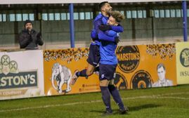 Match Report & Photos - Stratford Town 1 v 2 Hednesford