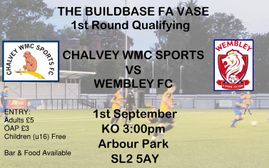F.A Vase - Chalvey Sports vs Wembley FC: Preview