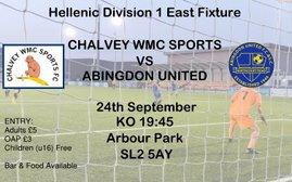 Chalvey Sports vs Abingdon United: Pre-View