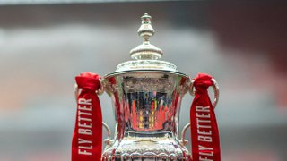 The FA Cup draw is out but we don't yet know who we'll play.