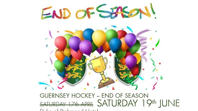 NEW DATE Guernsey Hockey - End of Season and Presentation Night