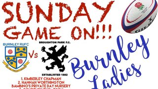 Ladies at home this Sunday !
