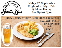Fish Supper 6th September