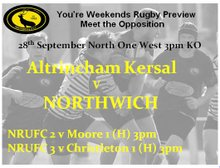 Your rugby preview for the weekend.