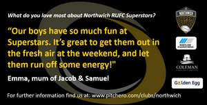 SuperStars Open Morning @ Northwich Rugby Club.