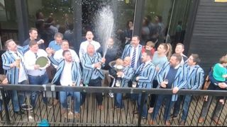 OBRFC II XV win the John Adler Trophy