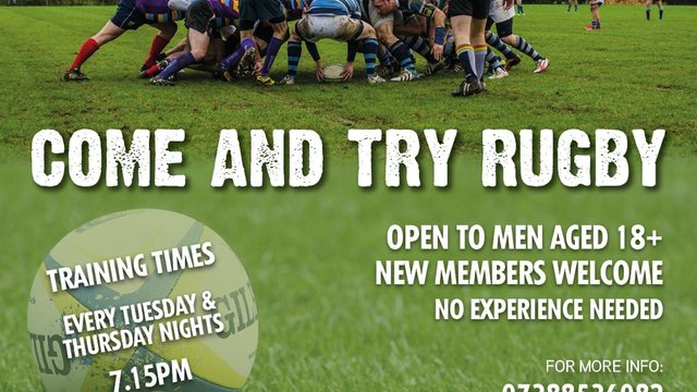 OBRFC - Come and try rugby