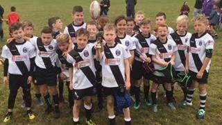 Burton Under 9's v Derby