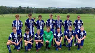 Newcastle Town Juniors v Leek Town (juniors) U16.