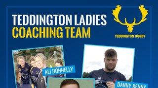 Teddington ladies welcome a new coaching team for the season.
