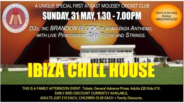 Ibiza Chill House at EMCC!
