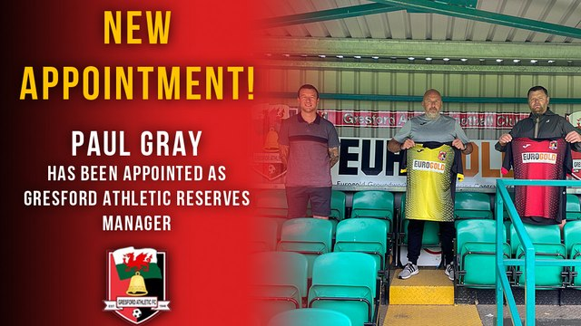 Paul Gray Appointed