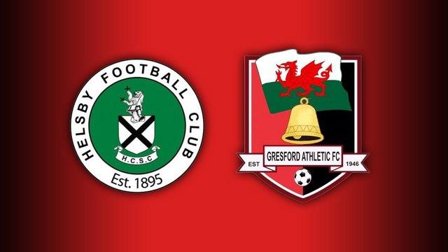 Friendly - Helsby 0-7 Gresford Athletic