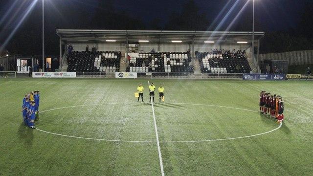 Gresford Athletic 3-0 Llangefni Town - 2021/22 JD Cymru North, matchday nine