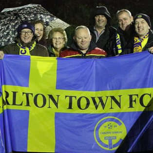 CLEETHORPES TOWN 1-1 CARLTON TOWN - MATCH REPORT